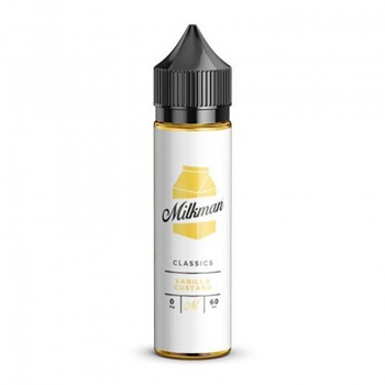 Vanilla Custard - The Milkman Liquid Shot 50/60ml