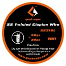 GeekVape SS Twisted Clapton Wire 3m