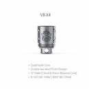 SMOK TFV8 Cloud Beast Coil V8-X4 Quadruple Core (1 Stück)