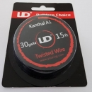UD Kanthal A1 Twisted Wire 30gax4 (15ft)